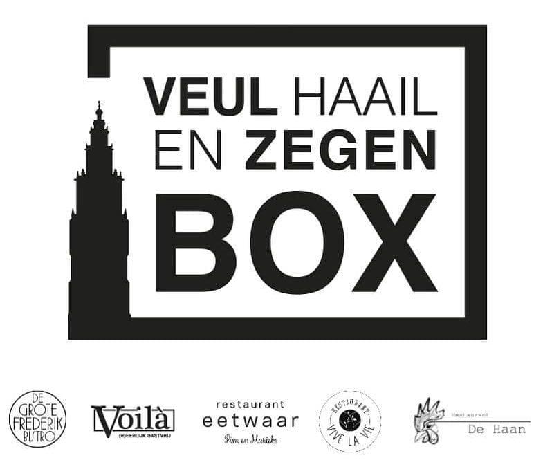 Veul Haail en Zegen Box voor Oudjaarsavond